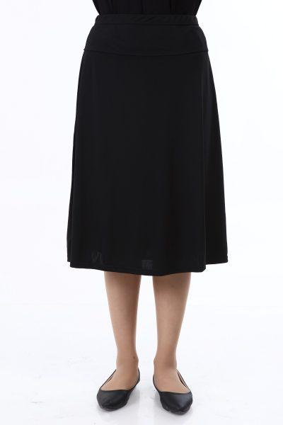 בגדי בית ליידיס - חצאית באורך רגיל B1 עמידה לאקונומיקה - אין יותר כתם אקונומיקה על בגד שחור