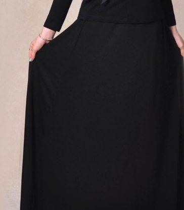 בגדי בית ליידיס - חצאית עמידה לאקונומיקה - אין יותר כתם אקונומיקה על בגד שחור