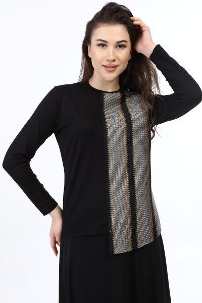 בגדי בית ליידיס - זהוב-כסוף H012 קולקציית 2021